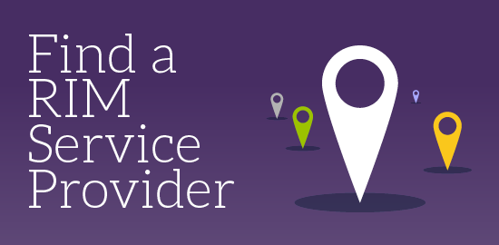Find a RIM Service Provider